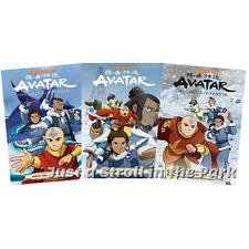 Avatar The Last Airbender: North and South Complete Manga Parts 1 2 3 NEW!