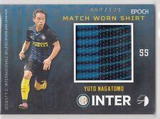 2016/17 Epoch Inter Milan Match Worn Shirt #1 Yuto Nagatomo 062/129