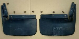 TOYOTA LITEACE 1985 1988 M30 PAIR FRONT MUD FLAPS RIGHT LEFT EXTRA TRACK WAGON
