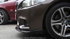 BMW F10 F11 P Performance lip Front M Sport Bumper spoiler chin bodykit m-tech