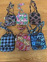 Vera Bradley MINI HIPSTER cross body little purse bag shoulder tote wallet