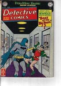 Detective 169 Batman Robin G/VG 1951 Mortimer Cover Double Size