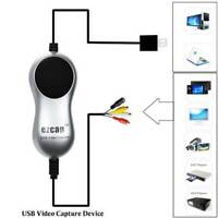 USB 2.0 Video Capture V8 Hi8 DVD VHS DVR Adapter Recorder Converter  to Digital