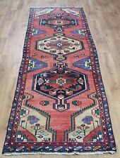 Persian Traditional Vintage Wool 300cmX 85cm Oriental Rug Handmade Carpet Rugs