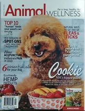 Animal Wellness April May 2017 Cookie NYC's Hippest Pooch Dogs FREE SHIPPING sb