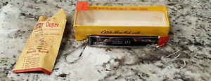 """IN BOX SOUTH BEND 524 SUPER DUPER Pat. Pend'g. Metal Fishing Lure 5 1/8"""" 24CH"""