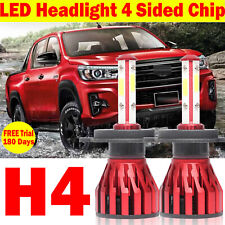 H4 CREE LED Headlight Hi/Lo Beam Kit Bulbs for Ford Ranger 2014 2013 2012 2011