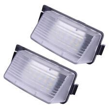 2stk Nummernschild LED Leuchte Lampe passt für Nissan Pulsar 2009-2019
