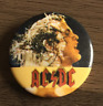 AC/DC BUTTON BADGE Australian Rock Band - Highway To Hell - Back In Black 25mm
