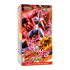 Pokemon Cards Game XY Booster Box Red Flash 30 Booster packs Korean Version