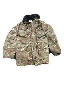 Original British Army Issue MVP Lined MTP Multicam Windproof/Waterproof Jacket
