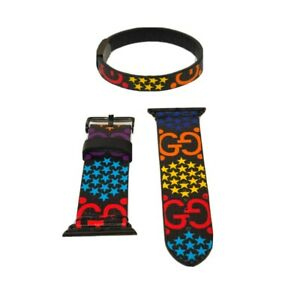 gucci psychedelic Apple Watchband