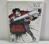 No More Heroes (Nintendo Wii, 2008) Complete Tested Works
