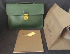 Sacoche, Serviette Louis Vuitton Purse Briefcase Modèle Robusto Cuir