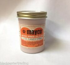 Mayco Brush-On Ceramic Glaze Vintage 4 Oz. L-14 Candy Pink SemiTransparent Gloss
