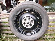 yamaha vmax vmx1200 rear wheel & AVON VENOM tyre about 4 to 5mm black bearings