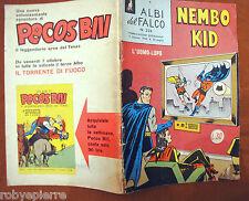 NEMBO KID Albi del Falco ORIGINALE n 234 del 1960 lire 30 L superman L'uomo lupo