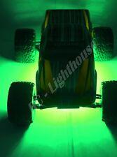 "RC LED Underbody Light Strips 2 x 6"" Super bright Lights Green"