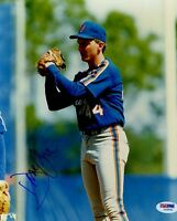 DAVID CONE METS SIGNED PSA/DNA CERTED 8X10 PHOTO AUTHENTIC AUTOGRAPH