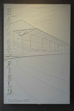 Hayward Field Historic East Grandstands Bas Relief - 2012 TrackTown USA