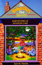 THE BABYSITTERS CLUB SPECIAL BABYSITTERS AT SHADOW LAKE Ann M. Martin summer fun