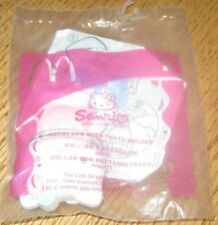 2002 Hello Kitty McDonalds Happy Meal Toy - Necklace with Photo Holder #7