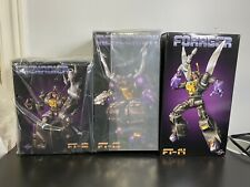 Fanstoys Grenadier Mercenary And Forager Transformers Masterpiece Insecticons