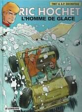 TIBET . RIC HOCHET N°69 . L'HOMME DE GLACE . EO . 2004 .