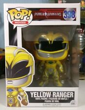 FUNKO POP Movies Power Rangers: Yellow Ranger Action Figure #398 - BRAND NEW