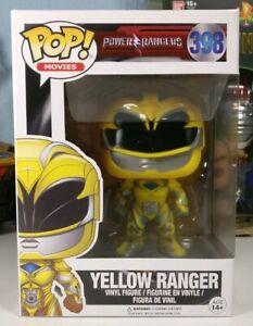 FUNKO POP Movies Power Rangers: Yellow Ranger Action Figure #398 - BRAND NEW