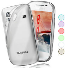 Silikon Case für Samsung Galaxy Ace Schutz Hülle Transparent Thin TPU Back Cover