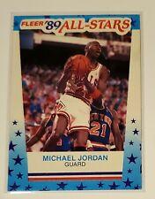 HOT!! HOF Michael Jordan 1989-90 Fleer 89 All Stars Card Sticker #3 G.O.A.T.