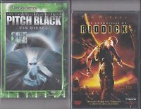 2 Dvd **PITCH BLACK + THE CHRONICLES OF RIDDICK** con Vin Diesel nuovo