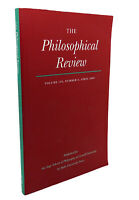 THE PHILOSOPHICAL REVIEW, VOL. 118, NUMBER 2, APRIL 2009  1st Edition 1st Print