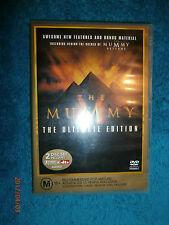 The Mummy (DVD, 2001, 2-Disc Set) Ultimate Edition Brendan Fraser, Rachel Weisz