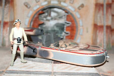Luke Skywalker and Landspeeder Star Wars Power Of The Force 2 1995