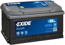 Autobatterie Starterbatterie Exide EB802 EXCELL12V 80Ah 700A