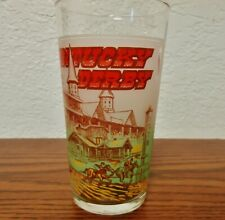 1978 Official Kentucky Derby Mint Julep Drinking Glass Churchill Downs