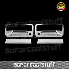 For Chevy S10 BLAZER 1992-95 Chrome 2 Doors Handles Covers W/ Passenger Kh