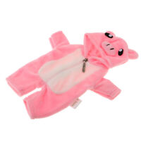 """Cartoon Clothes for MellChan Baby Doll 9-11"""" Doll Jumpsuit Overcoat Rompers"""