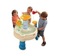 Little Tikes Garden Spiralin' Seas Waterpark Play Table Scoop Up Drop Off Balls