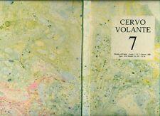 CERVO VOLANTE: Guardare il guardare. Anno I, Numero 7, Settembre 1981