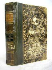 Quintus Horatius Flaccus Doering et Regel circa 1836 in Latin Antiquarian book