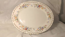"""Royal Albert Jubilee Rose 13"""" Oval Serving Platter in Excellent Condition"""