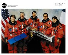 More details for sts-93 full crew hand signed nasa portrait litho - space shuttle astronauts