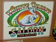 WHITE RABBIT SALOON --- Jack Daniel's Whiskey -- LYNCHBURG TENNESSEE -- Big Sign