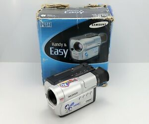 SAMSUNG VP-W95D CAMCORDER BOXED HI8 / 8MM / VIDEO8 ANALOGUE VIDEO TAPE