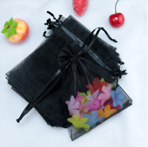 Organza Gift Jewelry Bags Pouches Candy Baby Shower Wedding Party Favor Christma
