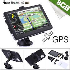 8GB 7'' Portable Car Truck GPS Navigation Sat Nav Navigator North America Map