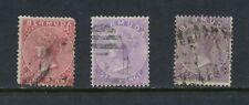 D444  Bermuda 1865/74  Queen Victoria  early issues   3v.  see scan   used
